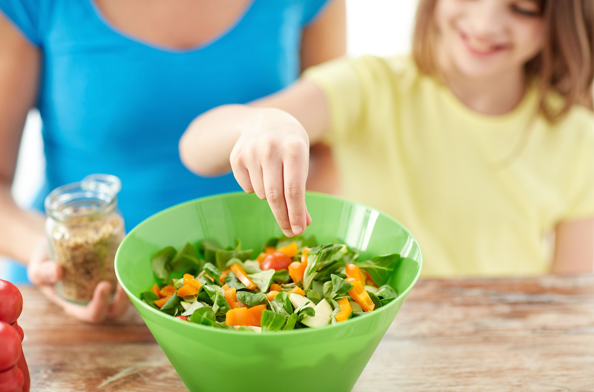 Vegetarian Diets for Children in the Triangle